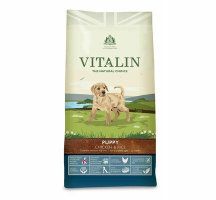 Vitalin Natural Puppy Chicken & Rice Dog Food