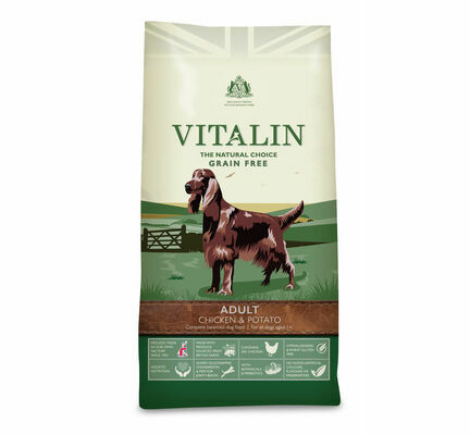 Vitalin Natural Choice Chicken & Potato Adult Dry Dog Food