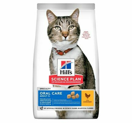 Hill\'s Science Plan Feline Oral Care Adult Cat Chicken