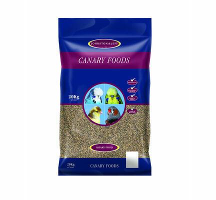 Johnston & Jeff Canary Food Light No Rape Seed 20kg