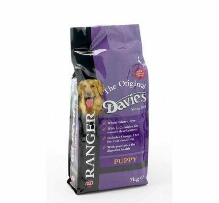 Davies Ranger Premium Gluten-Free Complete Puppy Food - 7kg