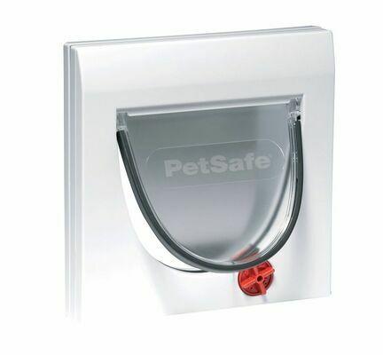 PetSafe Staywell Classic Manual 4 Way Locking Cat Flap White
