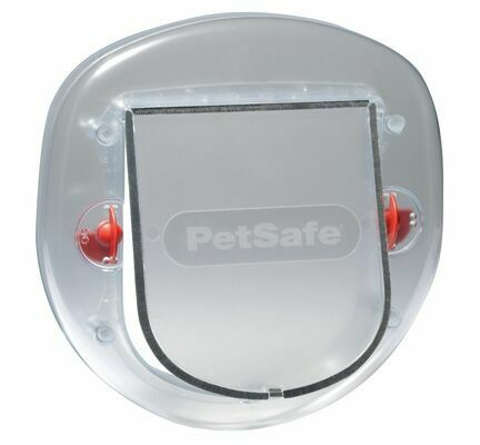 PetSafe Staywell® Manual 4 Way Locking Big Cat/Small Dog Flap Frosted