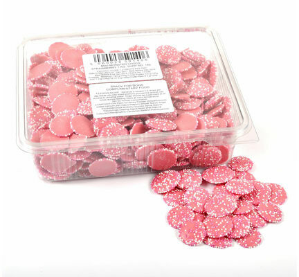 Monster Chocs Strawberry Chocolate Treats For Dogs 1kg