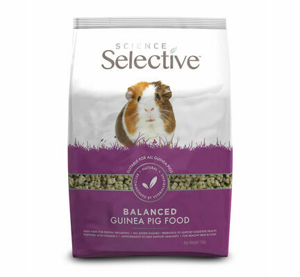 Supreme Science Selective Dandelion Guinea Pig Food