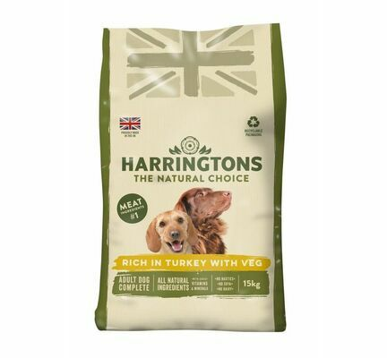 Harringtons Turkey and Vegetable Dry Dog Food