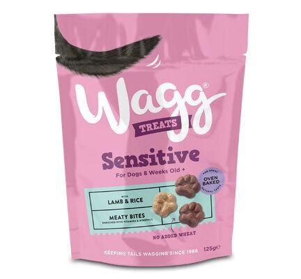 7 x 125g Wagg Sensitive Lamb & Rice Dog Treats
