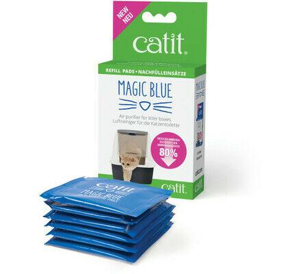 Catit Magic Blue Litter Box Air Purifier Refill Pads