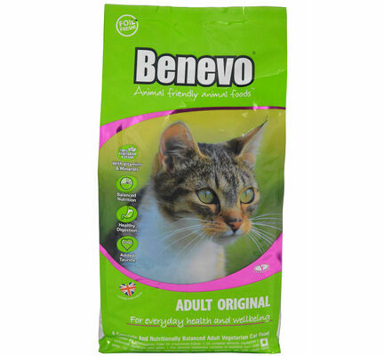 Benevo Adult Original Complete Vegetarian Cat Food - 10kg