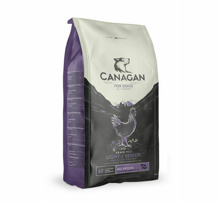 Canagan Free-Range Chicken Light / Senior Grain Free Dog Food
