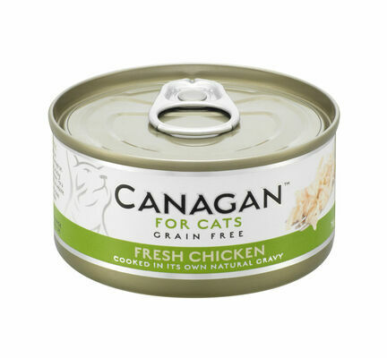 12 x 75g Canagan Free Run Chicken Grain-Free Cat Food