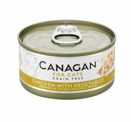 12 x 75g Canagan Chicken With Vegetables Grain-Free Cat Food