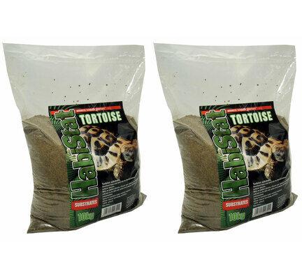 2 x 10kg Habistat Tortoise Advanced Vivarium Substrate Multibuy