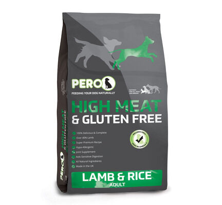 Pero High Meat Lamb & Rice Adult Dog Food