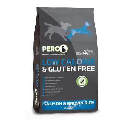 Pero Low Calorie (Labrador Life) Salmon & Brown Rice Adult Dog Food