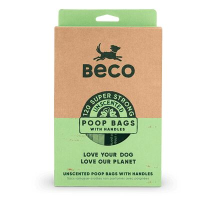 Beco Bags Poop Bags With Handles (120 Pack)