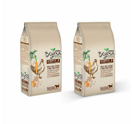 2 x 10kg Beyond Simply 9 Chicken Dog Food