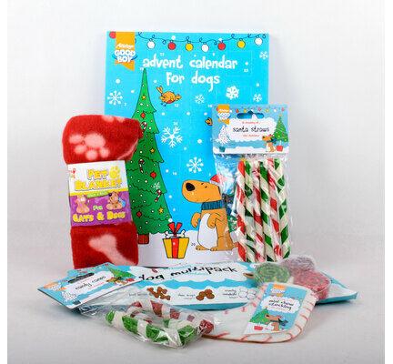The Pet Express Dog Christmas Present Gift Bundle