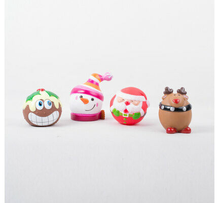 The Pet Express Assorted Christmas Dog Squeaker Toy