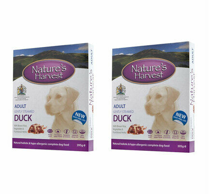 20 x Natures Harvest Adult Duck 395g