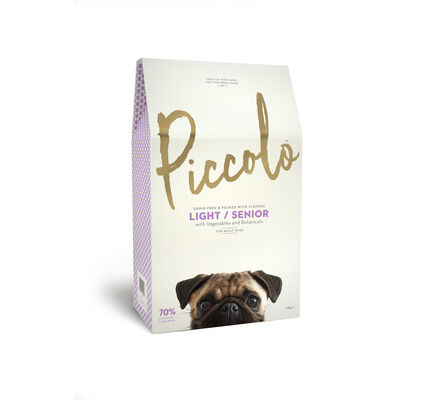 Piccolo Light/Senior Small Breed Adult Dog Food