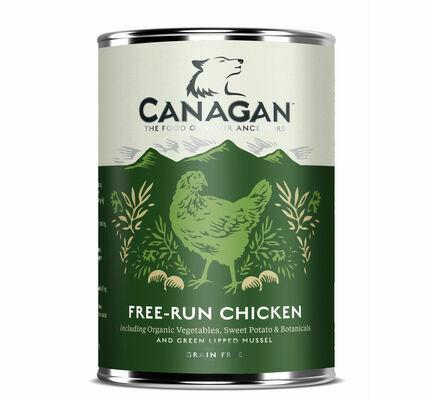 6 x 400g Canagan Free-Run Chicken Wet Dog Food