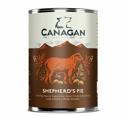 6 x 400g Canagan Shepherds Pie Wet Dog Food