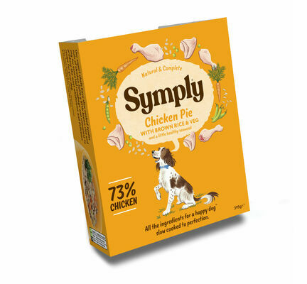 Symply Adult Chicken, Brown Rice & Vegetable Wet Dog Food