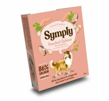 Symply Adult Salmon & Potato Wet Dog Food