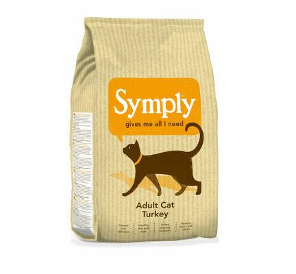 Symply Turkey Adult Dry Cat Food