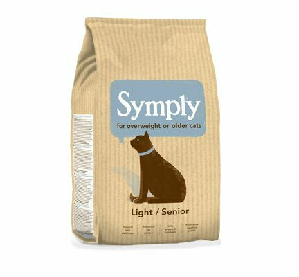 Symply Light/Senior Turkey Dry Cat Food 1.5kg