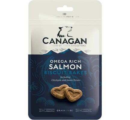 Canagan Omega Salmon Biscuit Bakes Dog Treats 150g