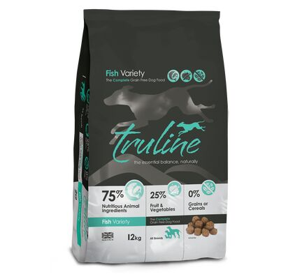 Truline Fish Variety Grain-Free Dry Dog Food