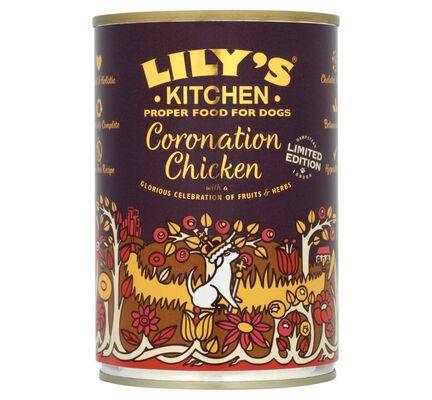 6 x 400g Lily's Kitchen Coronation Chicken Wet Dog Food