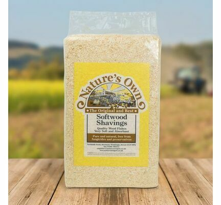 Nature\'s Own Woodflake Softwood Shavings