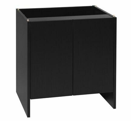"Monkfield Vivarium Cabinet 91 x 46 x 66cm (36 x 18 x 26"")  Black"
