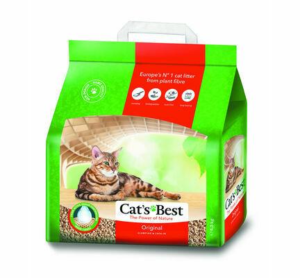 Cat's Best Original Okoplus Clumping Cat Litter 4.3kg (10L)