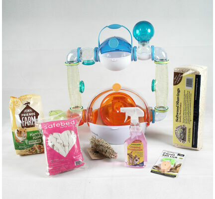 The Pet Express Habitrail Ovo Suite Hamster Starter Kit