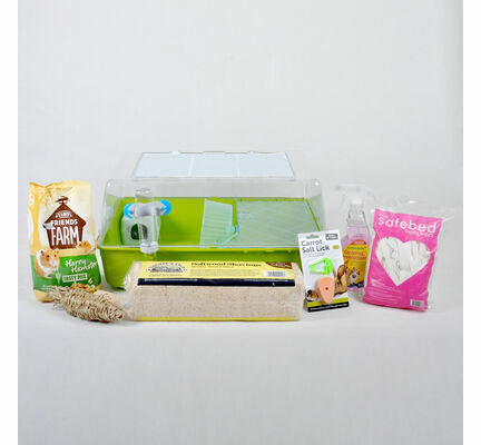 The Pet Express Mini Duna Hamster Starter Kit - Various Colours