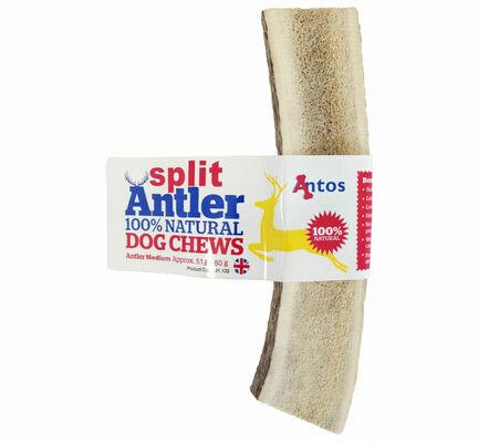 Antos Split Antler Natural Dog Chew