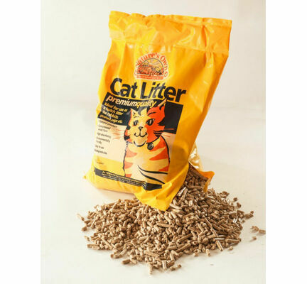 Nature's Own Premium Wood Pellet Dust Free Cat Litter