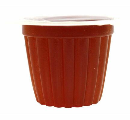 8 x Komodo Jelly Pots for Reptile Insects - Brown Sugar