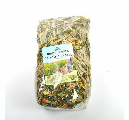 Nature's Own Herb Mix with Carrots and Peas for Small Animals