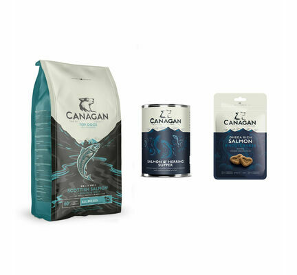 Canagan Scottish Salmon Wet and Dry Dog Food Bundle