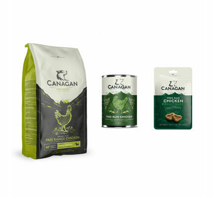 Canagan Chicken Small Breed Wet and Dry Dog Food Bundle