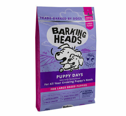 Barking Heads Large Breed Puppy Days Dry Dog Food