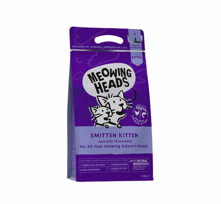 Meowing Heads Smitten Kitten Dry Cat Food