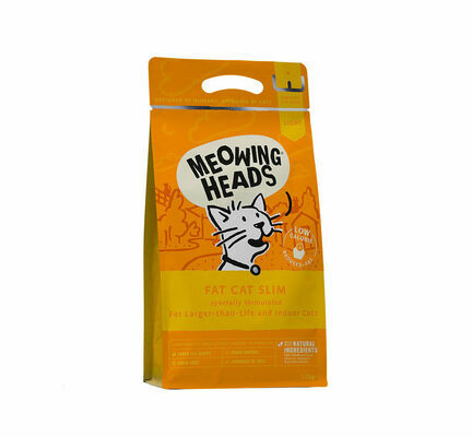 Meowing Heads Fat Cat Slim Dry Cat Food