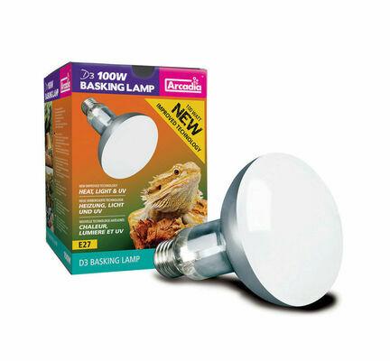 Arcadia Mercury Vapour D3 Basking Lamp 2nd Generation