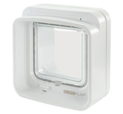 SureFlap DualScan Microchip Cat Flap White